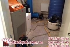 Чистка систем опалення в особняку