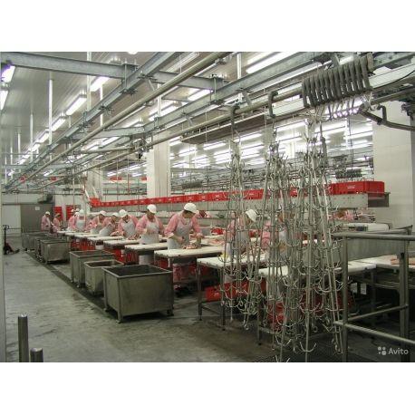 Линия по переработке мяса крупного рогатого скота  Источник: htt