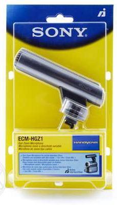 микрофон sony ECM-HGZ1