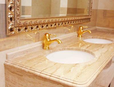 Итальянские изделия из мрамора: мозаика, ванны, плитка, столешн