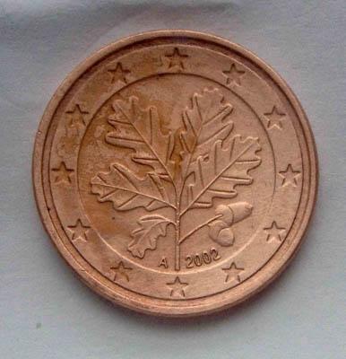 5 евроцента 2002