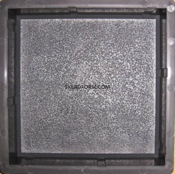 Формы для тротуарной плитки Кирпич дорожный шагрень 6 см