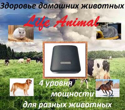 Лечение животных дома прибором Life Animal.