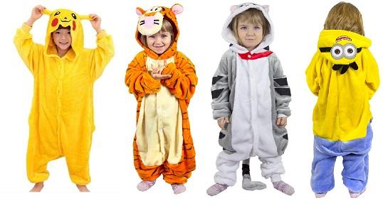 Пижамы Кигуруми для мальчиков. Доступные цены
