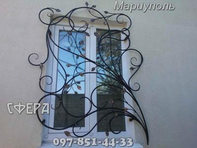 Металлические решетки на окна, изготовление, установка оконны�
