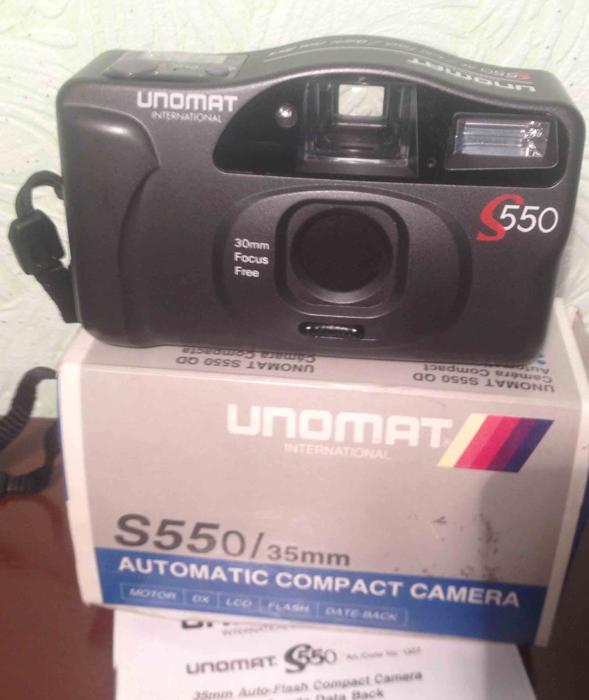 Фотоаппарат  UNOMAT  S 550 international
