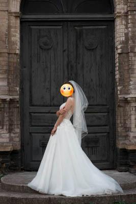 Свадебное платье Мирабель, Diamond White