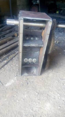 Измельчитель веток рубает 80 110мм диаметр
