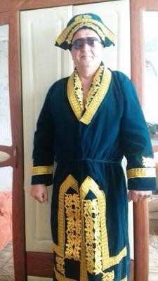 Національний казахский халат