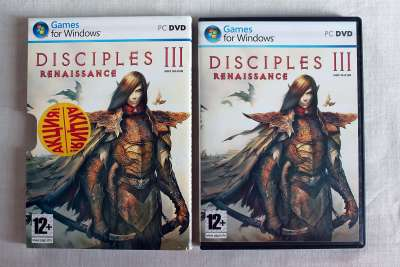 Игра для ПК диск PC DVD Game Disciples III: Renaissance