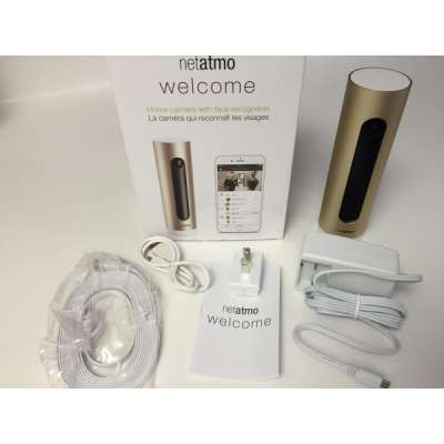 Хит. Умная камера Netatmo Welcome Apple HomeKit